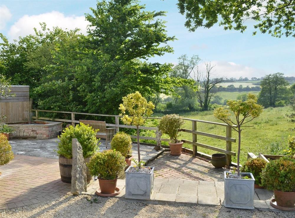 View at Green Oak Cottage in Sandley, near Gillingham, Dorset