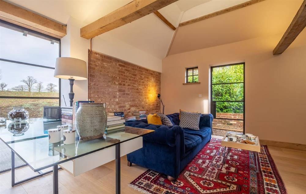 Black Swan Barn ground floor: Open plan small sitting room