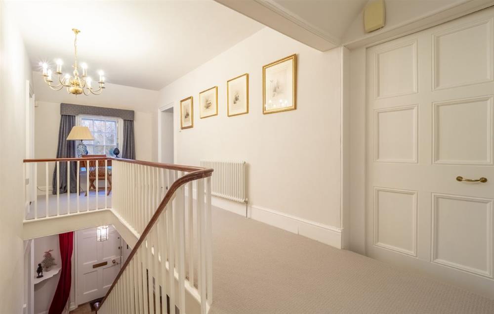 Grove Farm House first floor: Elegant first floor hall