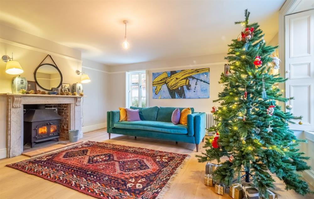 Grove Farm House ground floor: Enjoy the festive season in this stunning location