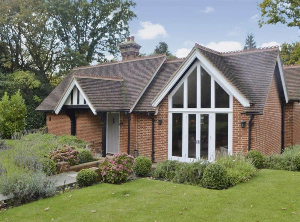 Exterior at Grovelands Lodge in Wineham, near Henfield, West Sussex