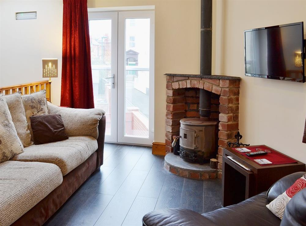 Open plan living/dining room/kitchen at Groveside Cottage in Saltburn-by-the-Sea, Cleveland