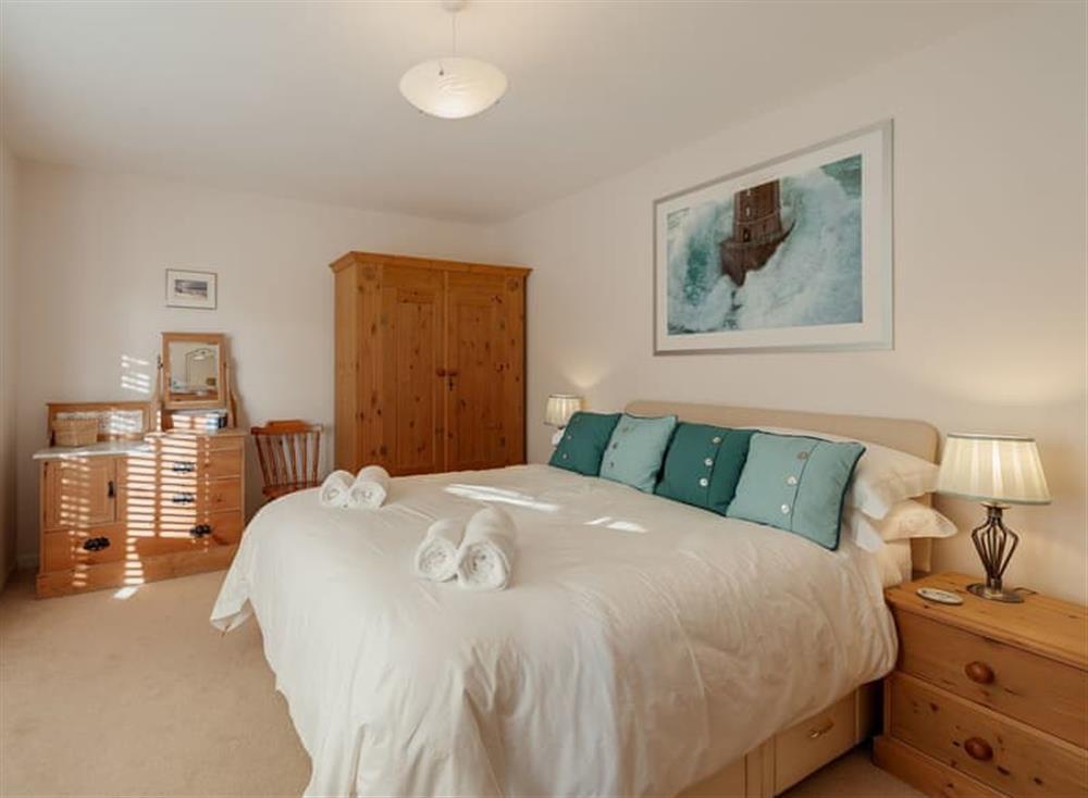 Double bedroom at Guillemots in , Brixham