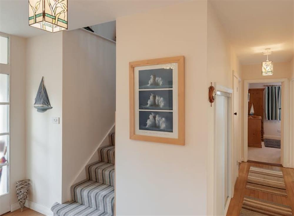 Hallway at Guillemots in , Brixham