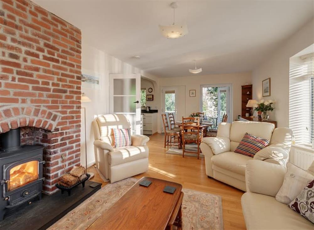 Living area at Guillemots in , Brixham