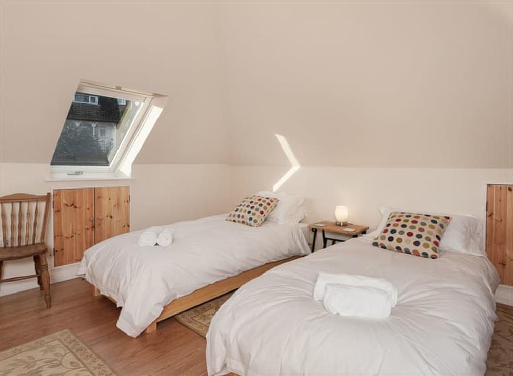 Twin bedroom at Guillemots in , Brixham