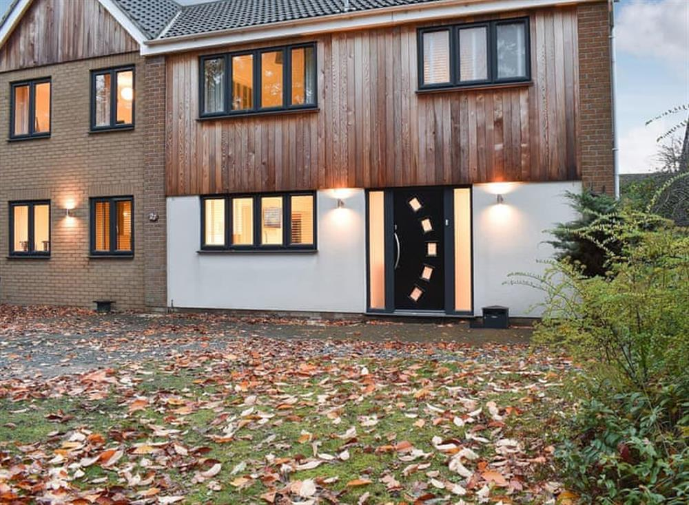 Stylish and modern holiday home at Gunton Wood House in Lowestoft, Suffolk
