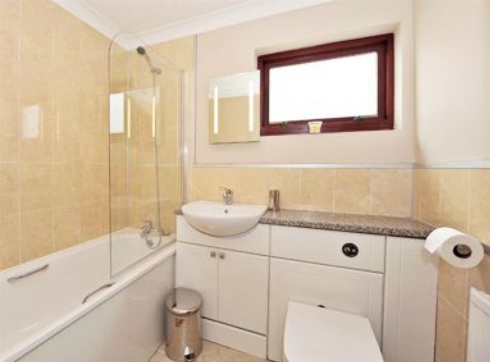 Bathroom at Gwbert Holiday Cottages- Hafdir in Gwbert, Dyfed