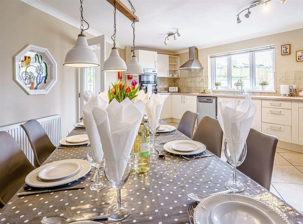 Kitchen/diner at Gwbert Holiday Cottages- Hafdir in Gwbert, Dyfed