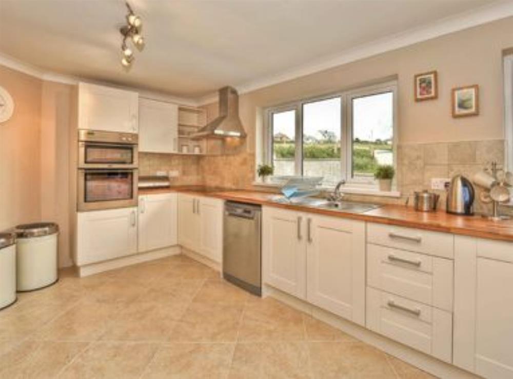 Kitchen at Gwbert Holiday Cottages- Hafdir in Gwbert, Dyfed