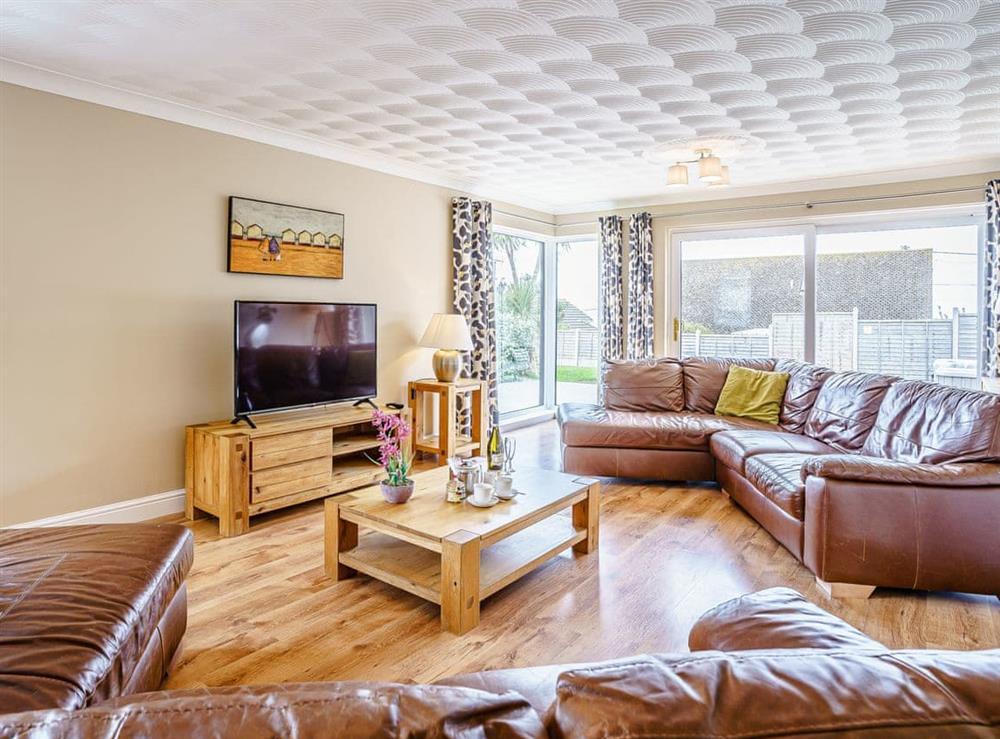 Living room at Gwbert Holiday Cottages- Hafdir in Gwbert, Dyfed