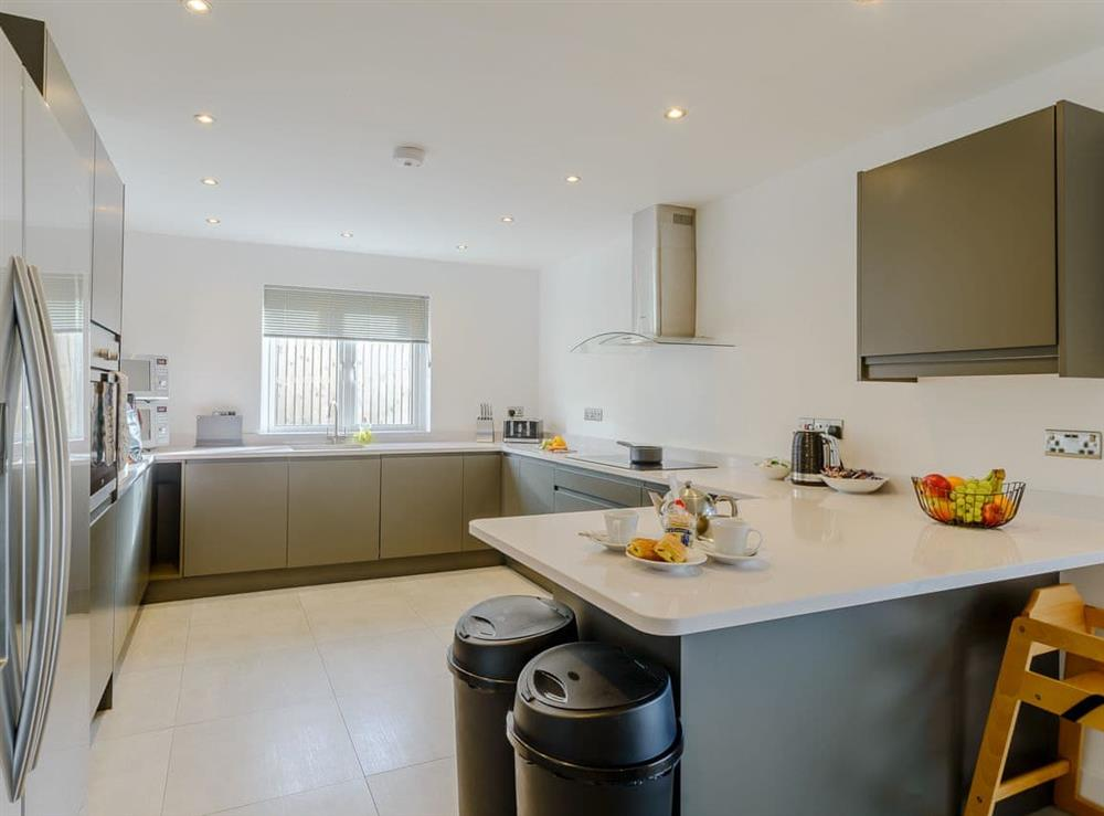 Fantastic kitchen at Meusydd,