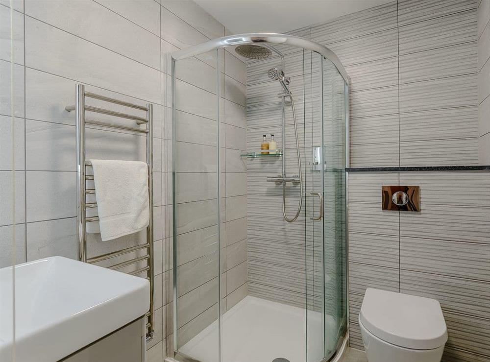 Shower room at Meusydd,