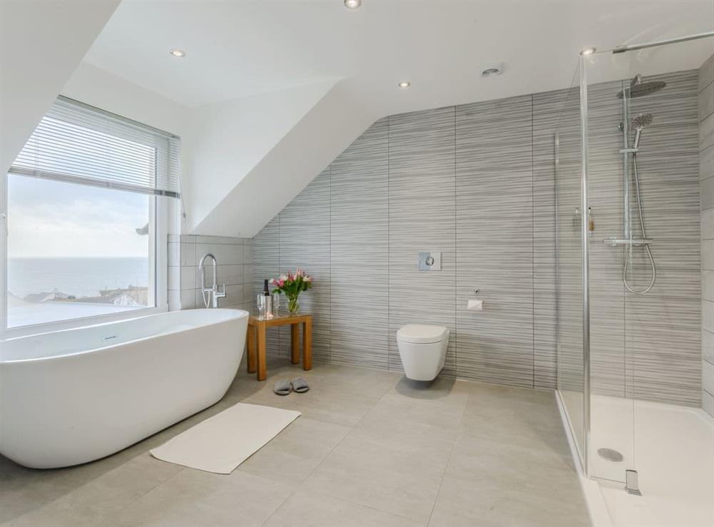 Stunning bathroom at Meusydd,