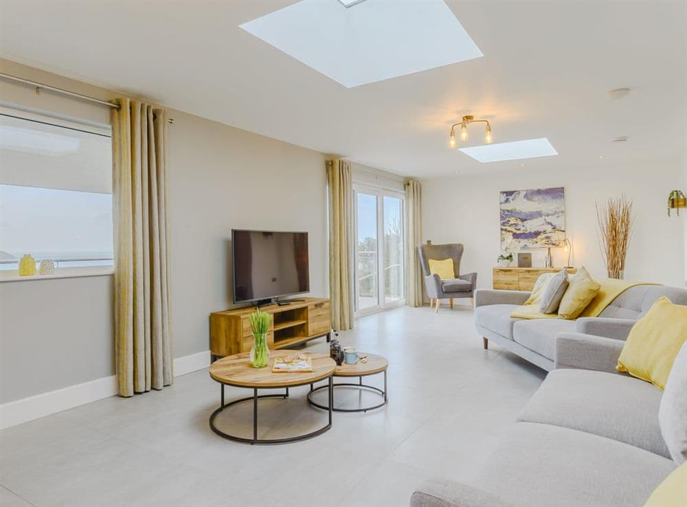 Well presented living area at Meusydd,