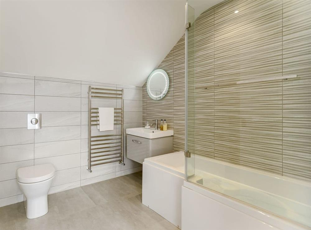 Bathroom at Ty Canol,
