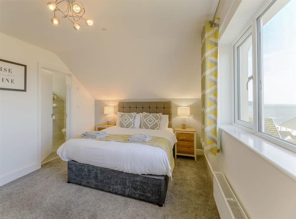 Comfortable double bedroom at Ty Canol,