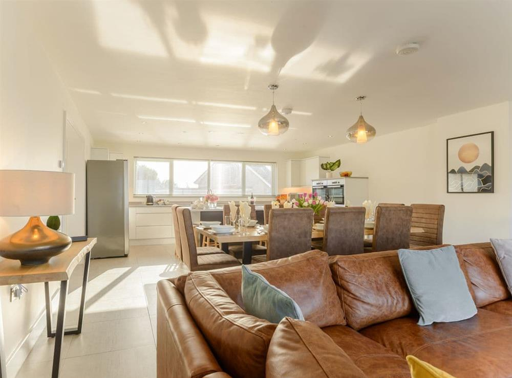 Delightful open plan living space at Ty Canol,