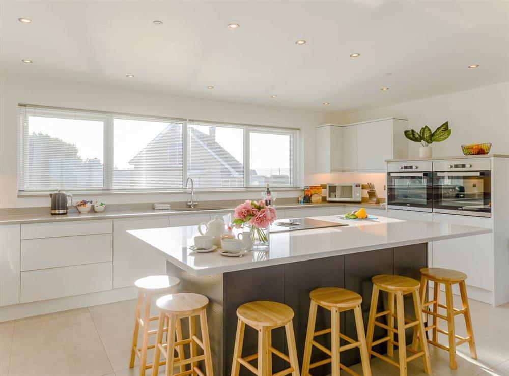 Fantastic kitchen at Ty Canol,