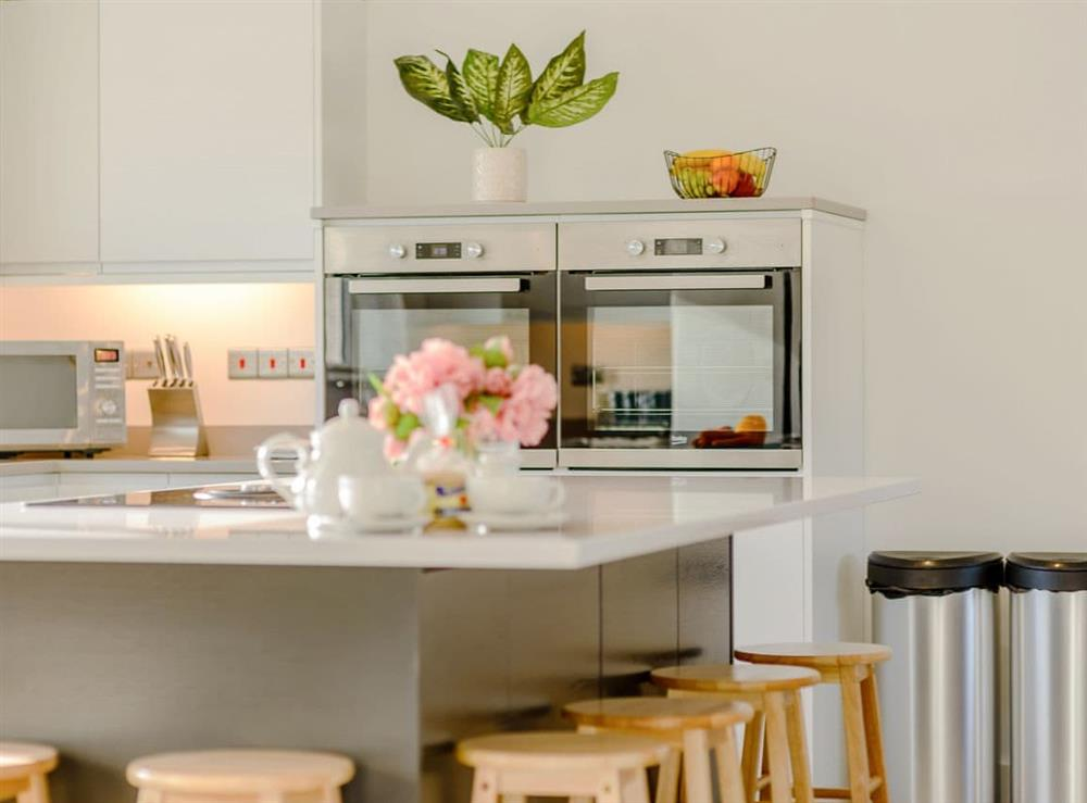 Modern, well equipped kitchen (photo 2) at Ty Canol,