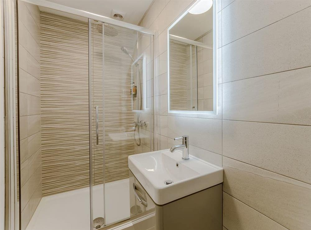 Shower room at Ty Canol,