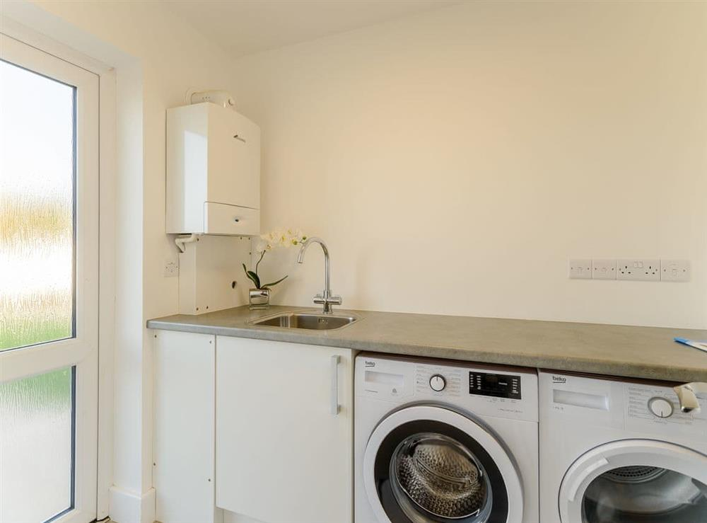Utility room at Ty Canol,
