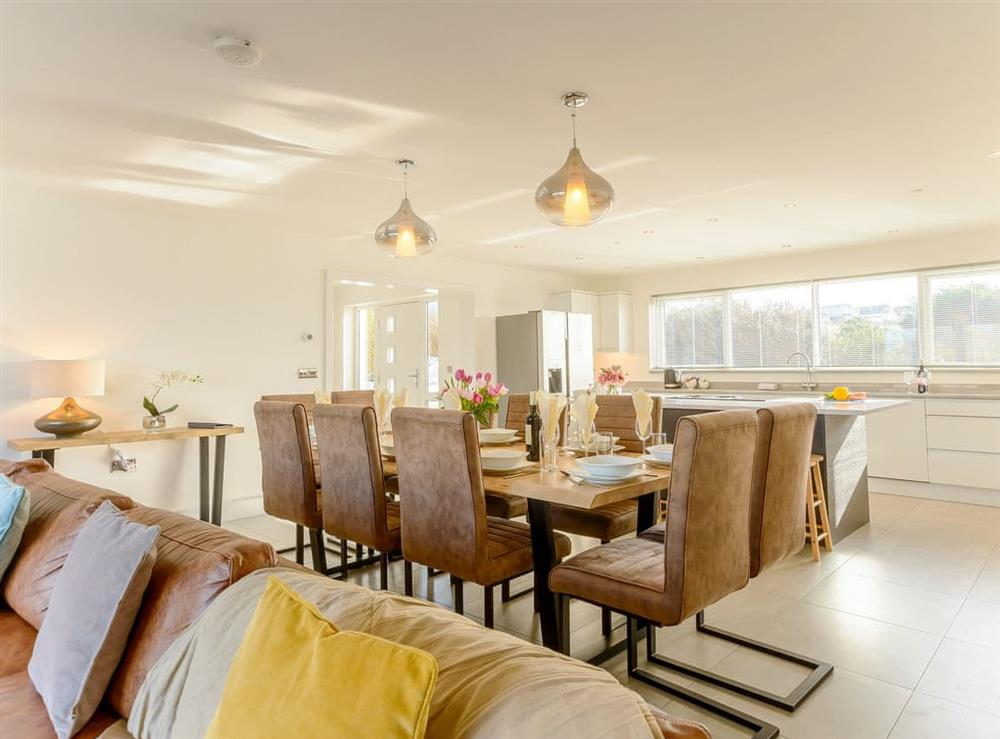 Wonderful dining area at Ty Canol,
