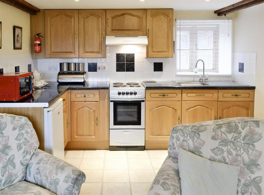 Spacious open-plan living space at Bluebell,