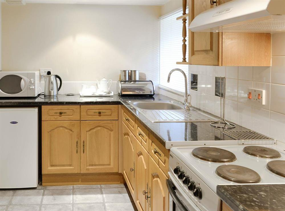Well-equipped fitted kitchen at Primrose,