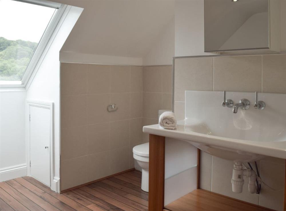Bathroom at Hafan Dawel in Stepaside, near Saundersfoot, Pembrokeshire, Dyfed