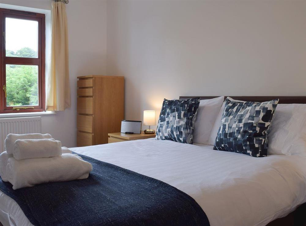 Double bedroom at Hafan Dawel in Stepaside, near Saundersfoot, Pembrokeshire, Dyfed
