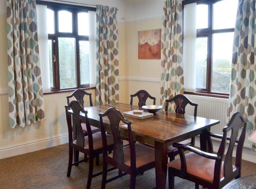 Dining Area at Hafan in Llangwnadl, near Nefyn, Gwynedd