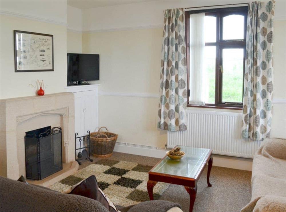 Living room/dining room at Hafan in Llangwnadl, near Nefyn, Gwynedd