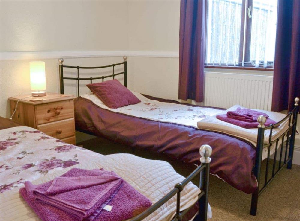 Twin bedroom at Hafan in Llangwnadl, near Nefyn, Gwynedd