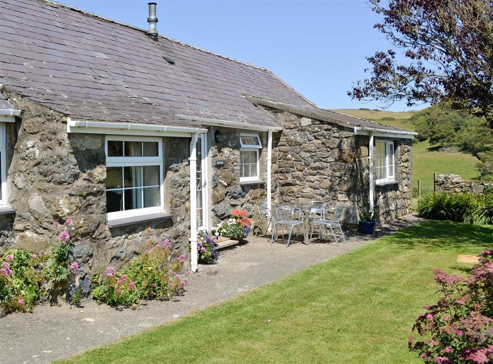 Exterior at Hafod in Llangian, near Abersoch, Gwynedd