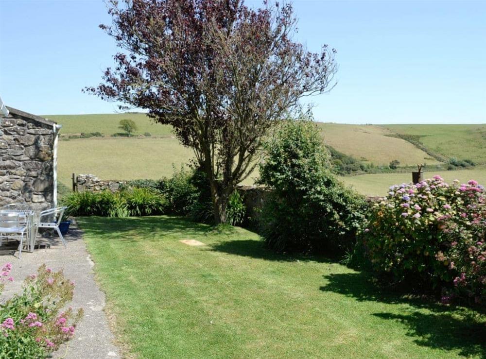 Garden at Hafod in Llangian, near Abersoch, Gwynedd