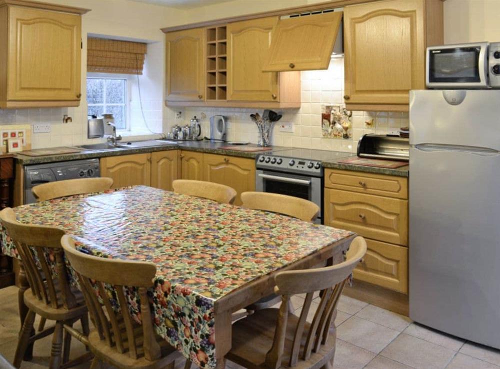 Kitchen/diner at Hafod in Llangian, near Abersoch, Gwynedd