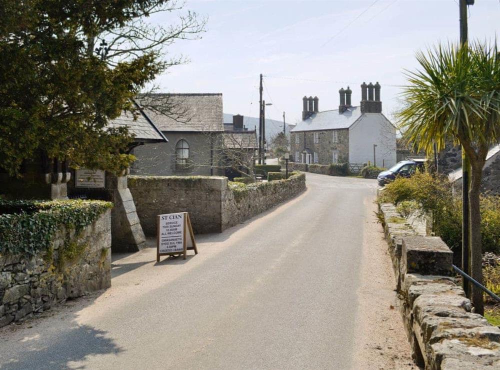 Llangian village at Hafod in Llangian, near Abersoch, Gwynedd
