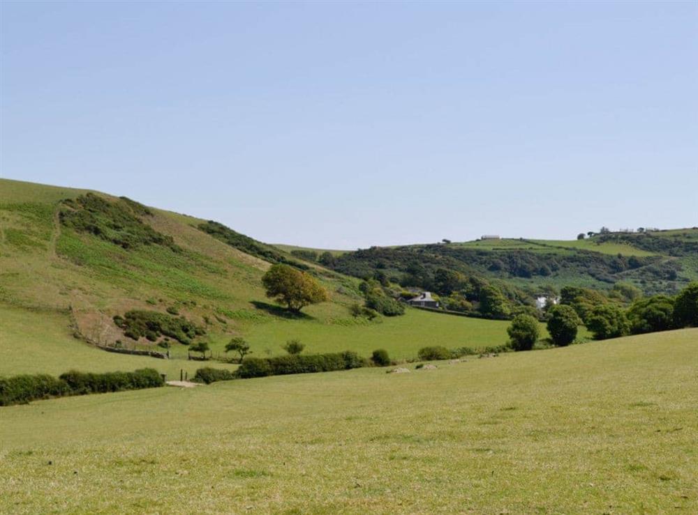 View at Hafod in Llangian, near Abersoch, Gwynedd