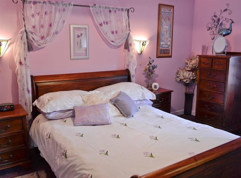 Double bedroom at Hafoty Boeth Cottage in Bryn Saith Marchog, near Ruthin, Clwyd