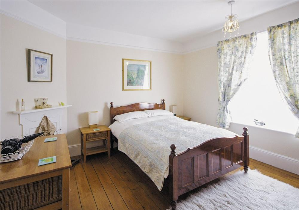 Double bedroom at Half Moon Cottage in Great Yarmouth, Norfolk