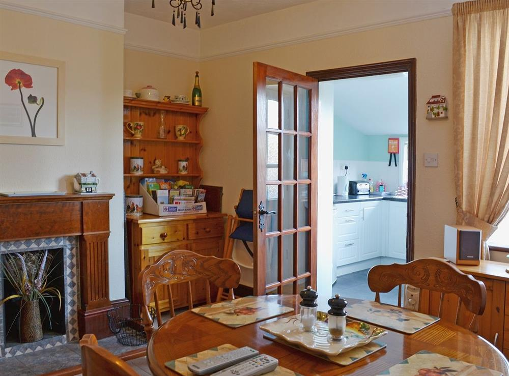 Kitchen/diner at Half Moon Cottage in Great Yarmouth, Norfolk