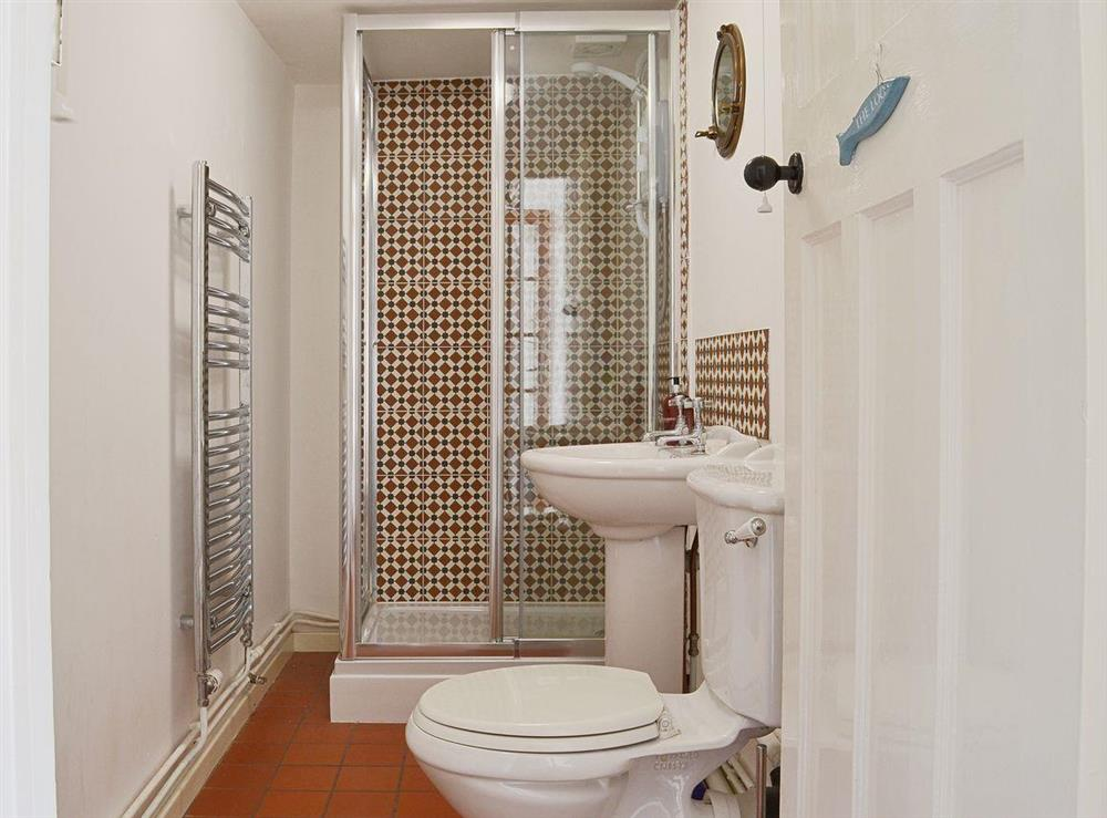 There is a ground floor shower room with WC at Half Penny Cottage in Docking, near Hunstanton, Norfolk