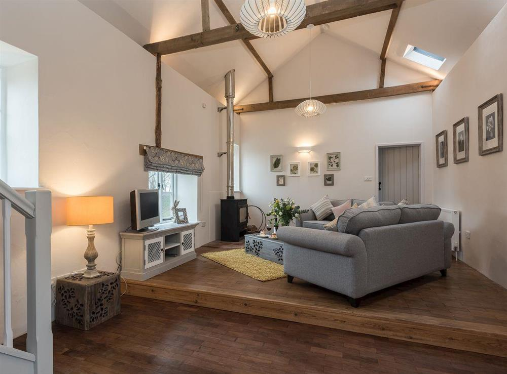 Fresh, roomy, contemporary living space at Hall Farm Barn in Lamas, near Buxton, Norfolk