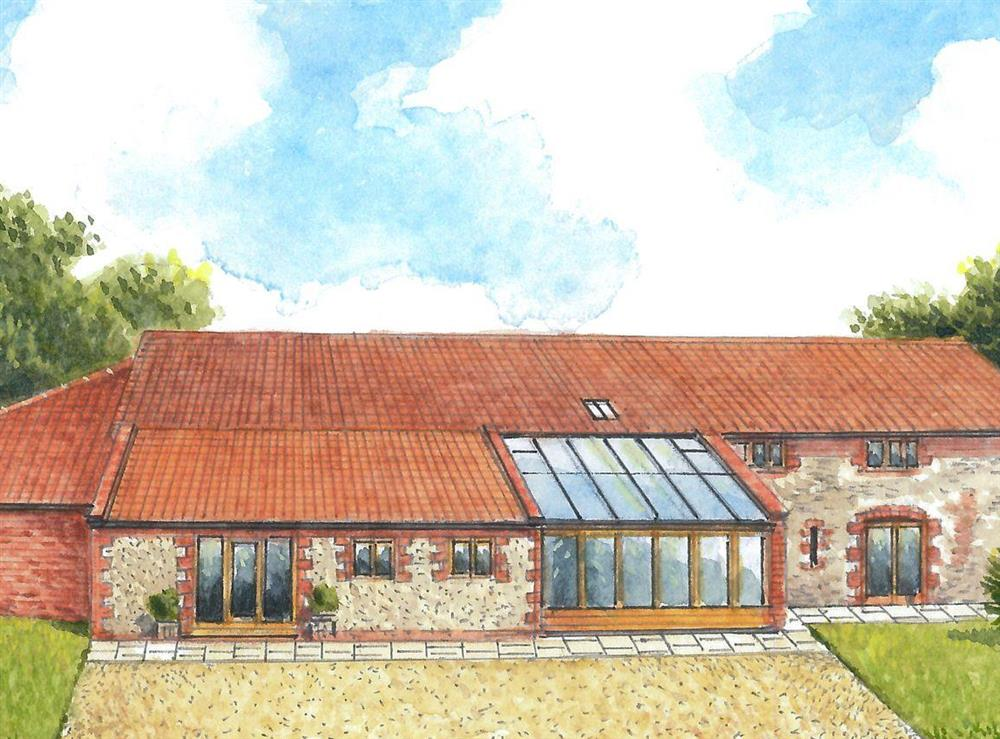 Artist's Impression (UKC2527 left/ UKC2526 right) at The Great South Barn,