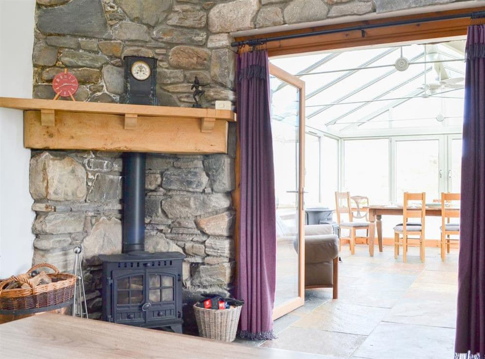 Living area at Hamishs Hame in Abriachan, Inverness-Shire