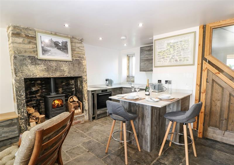 The living area at Hapenny Cottage, Meltham