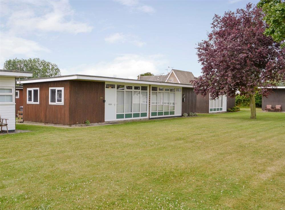 Attractive holiday chalet at Happy Times in Stalham, Norfolk