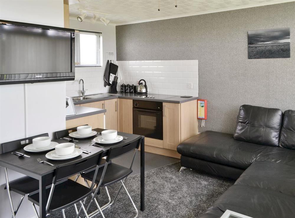 Convenient open-plan living space at Happy Times in Stalham, Norfolk