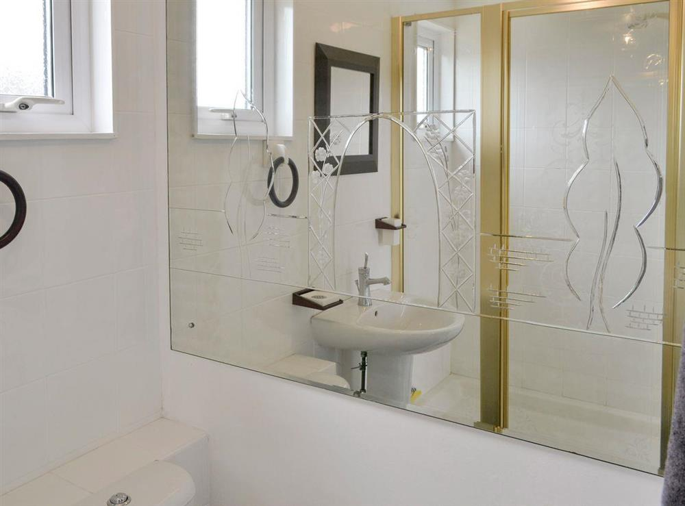 Family shower room at Happy Times in Stalham, Norfolk